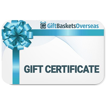 Gift Baskets Overseas - Gift Certificate